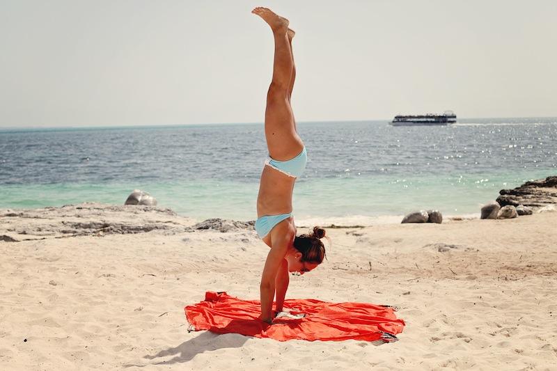 monkey mat handstand