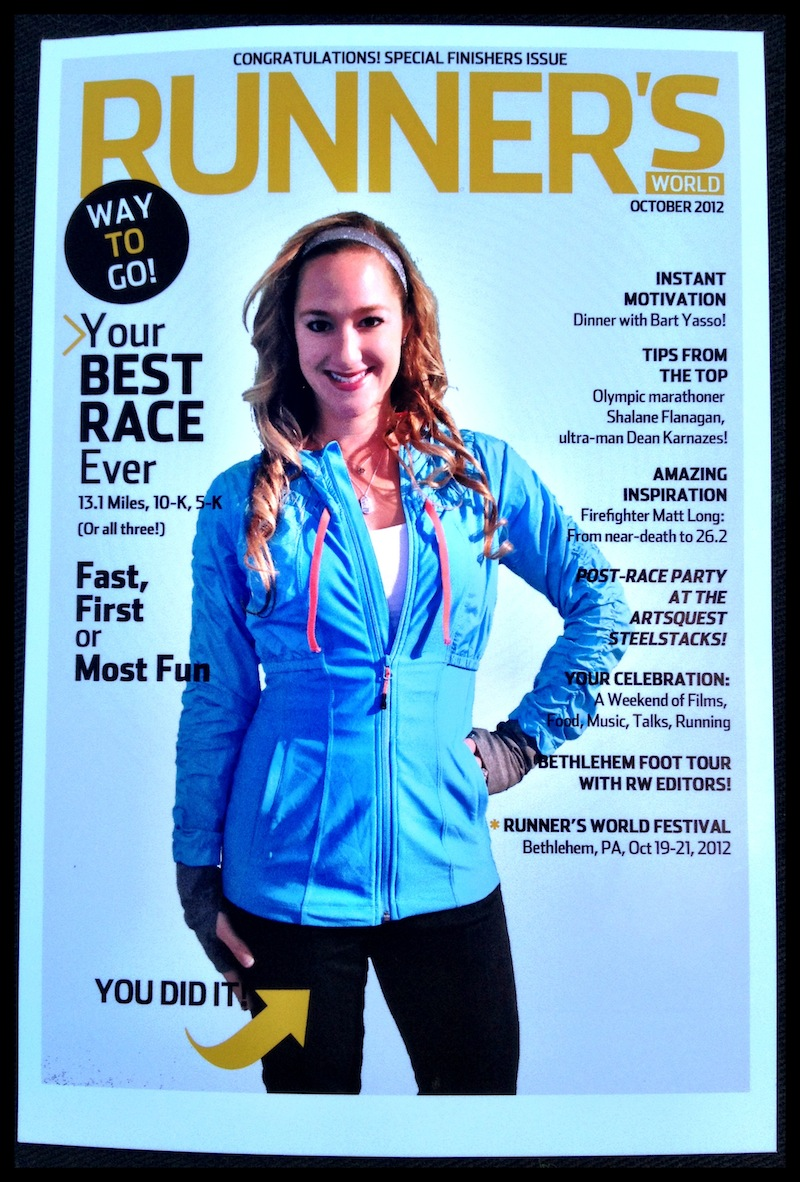 Runner's World Cover Itz Linz