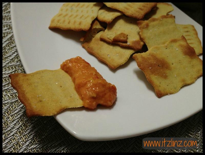 Hummuz Crispz cracker