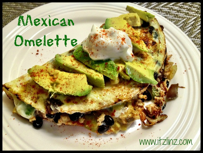 Mexican Omelette 1