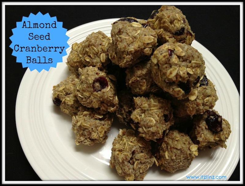 Almond Seed Cranberry Balls