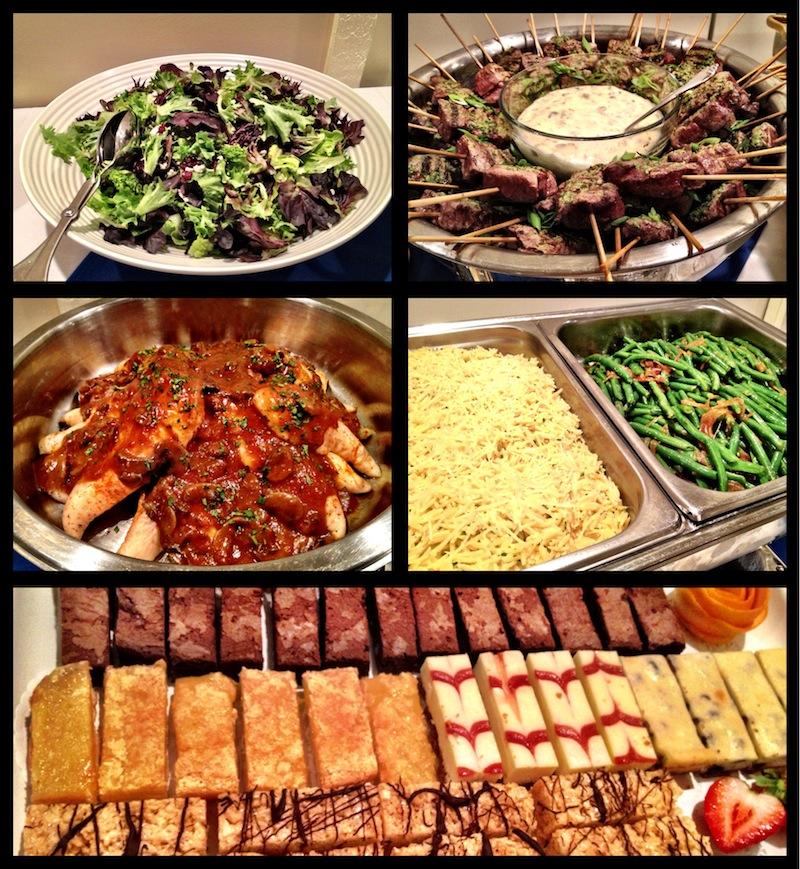 Ces & Judy's dinner