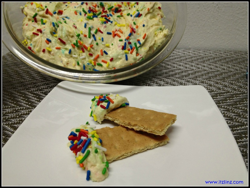 Greek Yogurt Cake Batter Dip