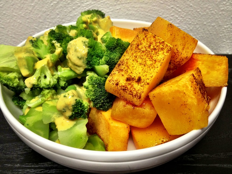 broccoli & butternut squash