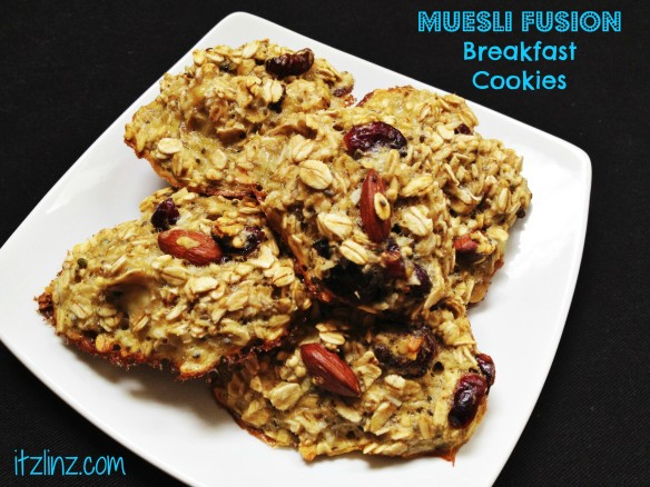 Muesli Fusion Breakfast Cookies