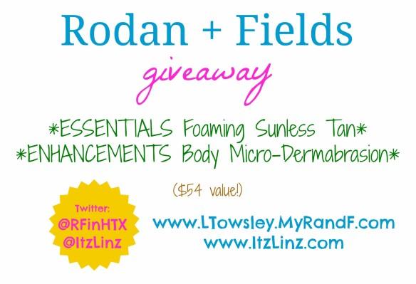 rodan fields giveaway