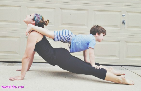 Upward Facing Dog Tandem 1