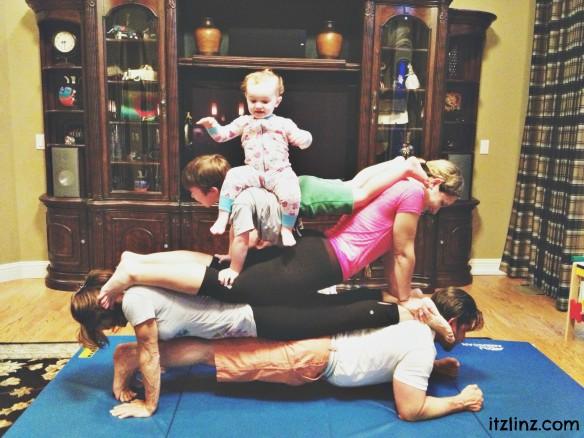 family tandem yoga 1
