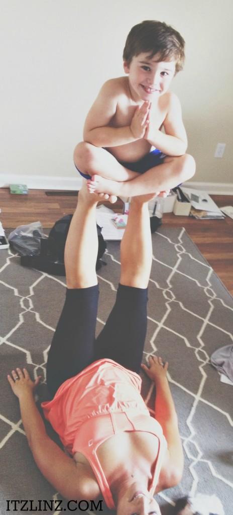 Floating Padmasana Jacob yoga