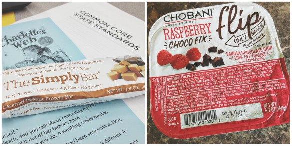 simply bar & chobani
