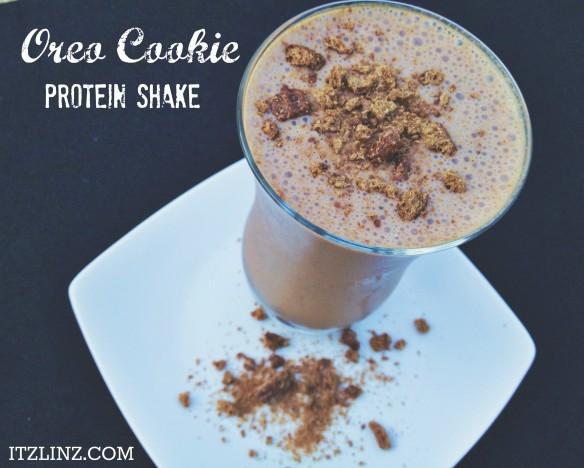 Oreo Cookie Protein Shake