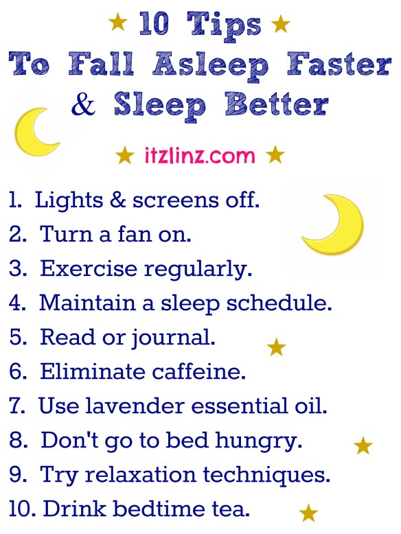 How To Get To Sleep Quickly Naturally