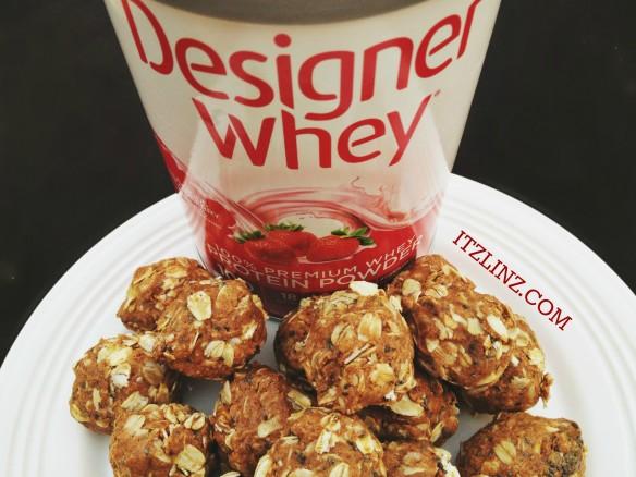 designer whey protein balls