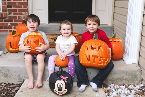 kids pumpkins