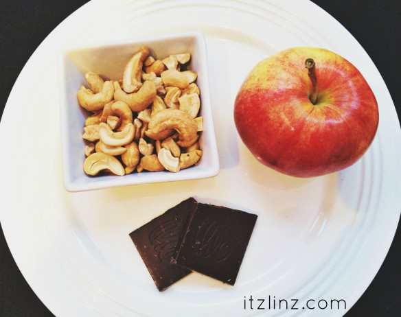nuts fruit chocolate snack