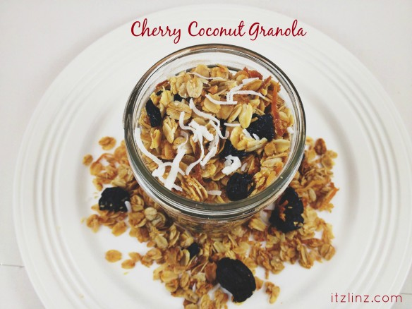 cherry choconut granola recipe