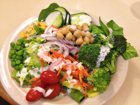 souplantation salad