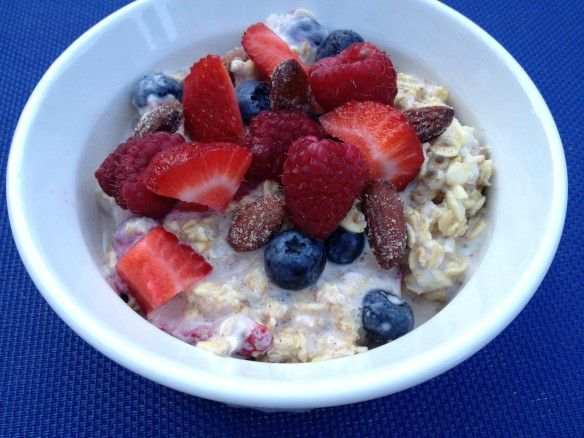 honey vanilla overnight oats1
