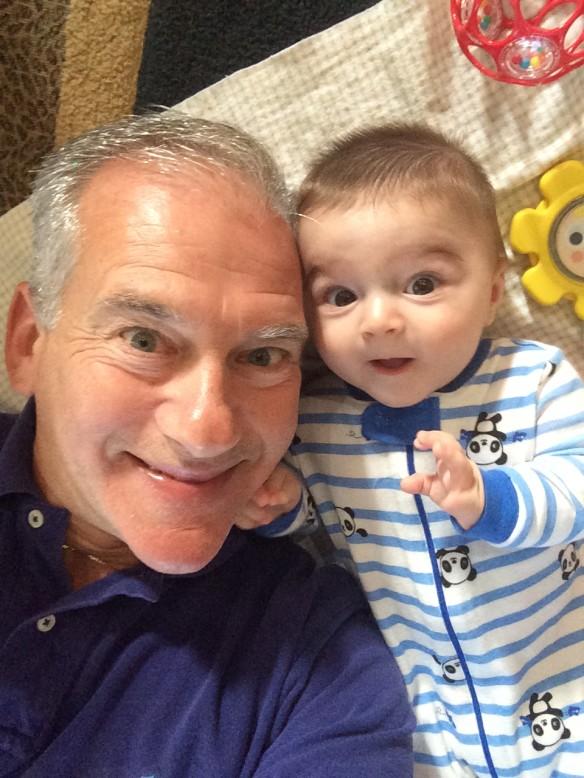 pops william selfie