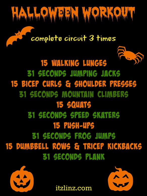 Halloween Workout | Itz Linz