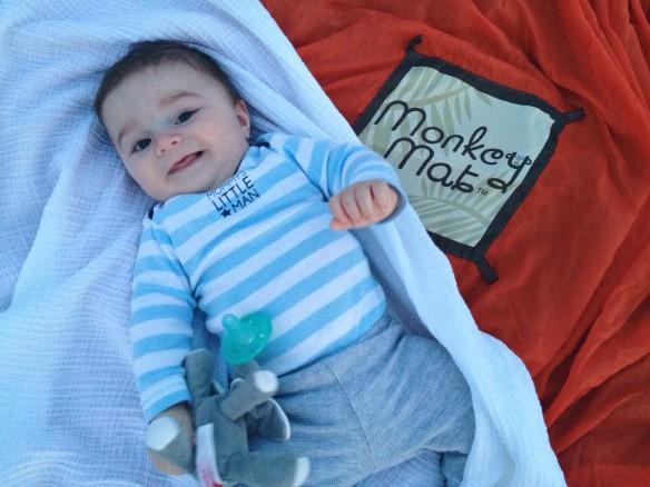monkey mat baby
