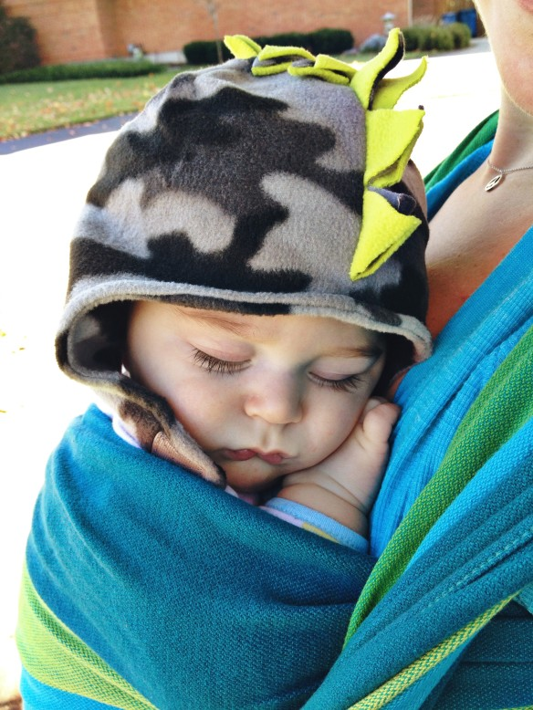 snuggle sleep babywearing