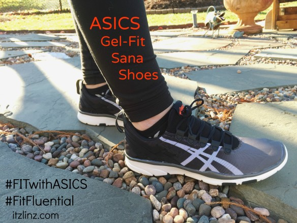 asics gel fit sana mint