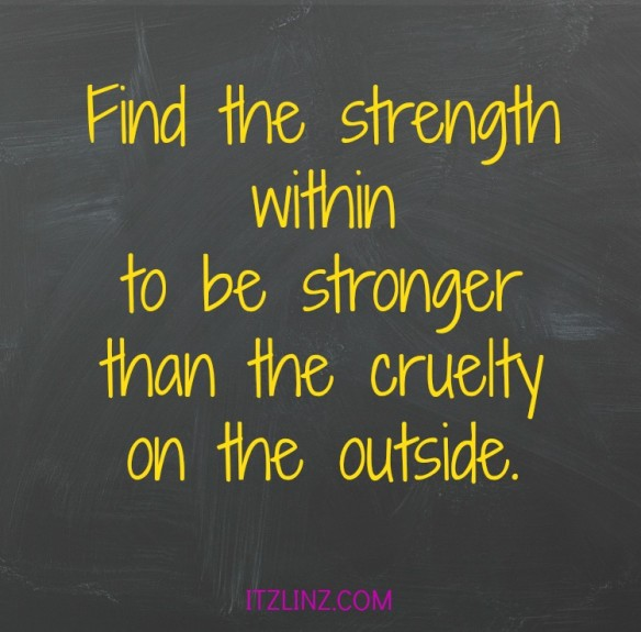 find the strength within