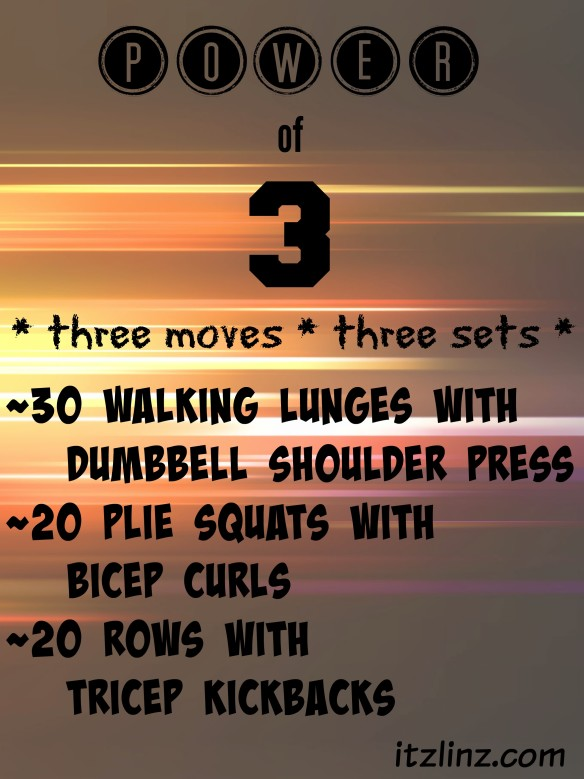 power of 3 workout