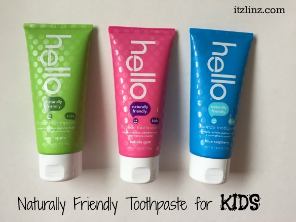 hello kids naturally friendly toothpaste