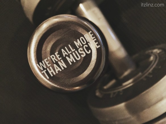 we're all more than muscle