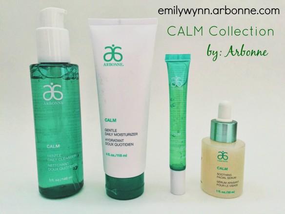 arbonne calm skin