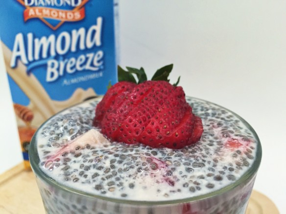 honeyvanilla chia pudding