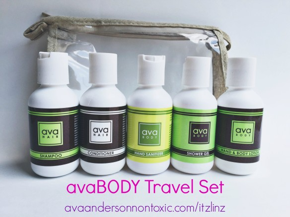 ava anderson travel set