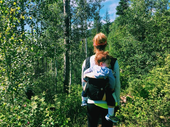 babywearing hike