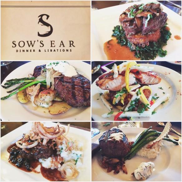 sows ear dinner