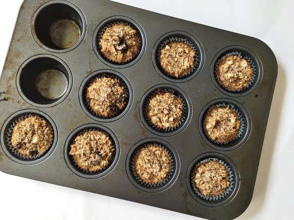 apple cinnamon oat muffin