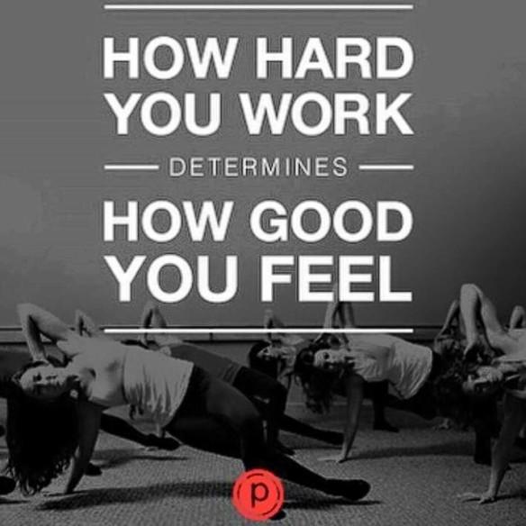 how hard you work