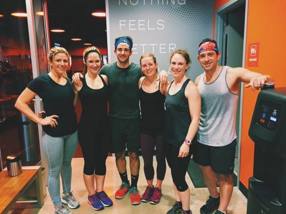 family orangetheory workout