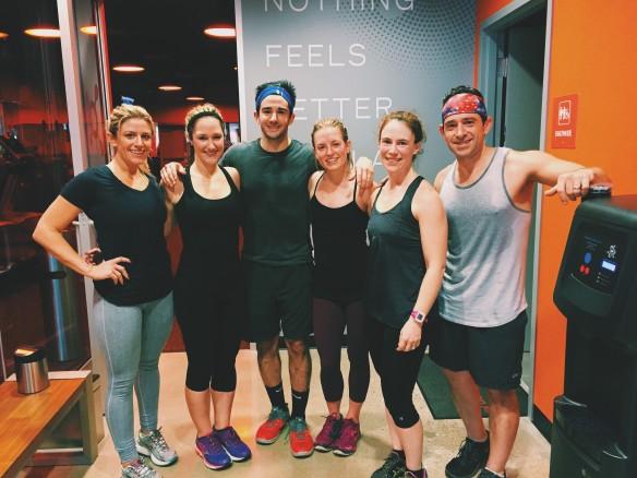 family orangetheory workout