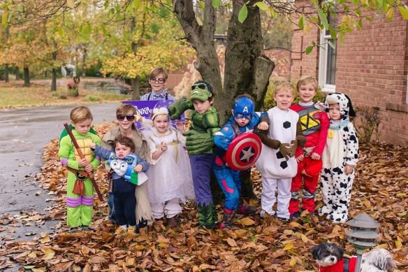 halloween2015 cousins