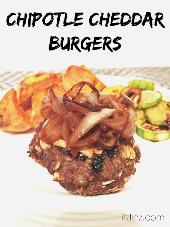 chipotle cheddar burgers recipe