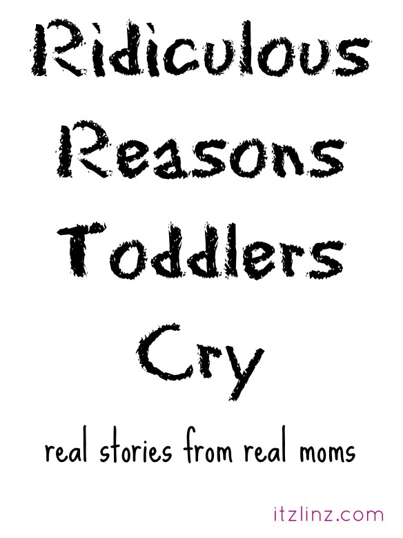 ridiculous reasons toddlers cry