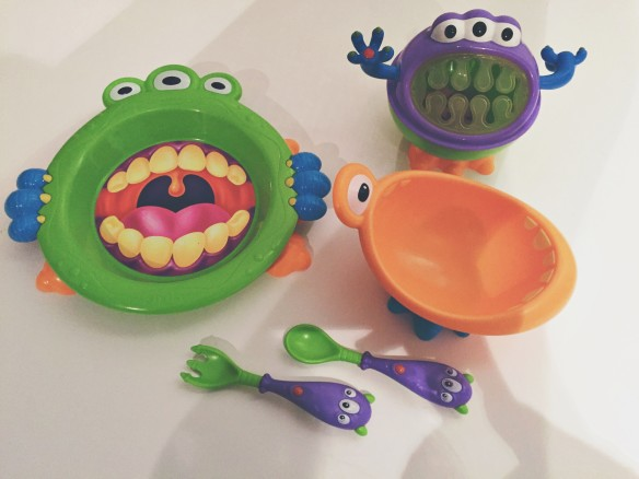 nuby monster set