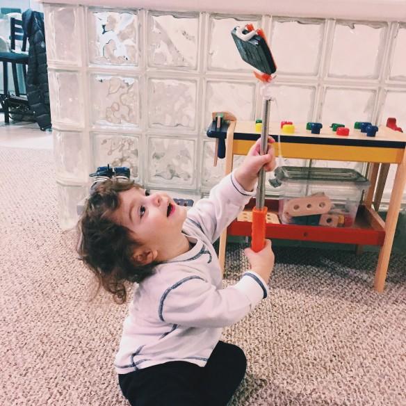 happy toddler selfie itz linz. Black Bedroom Furniture Sets. Home Design Ideas