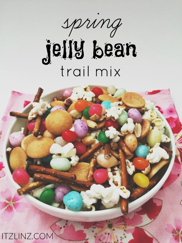 spring jelly bean trail mix