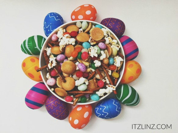 spring jelly bean trial mix recipe
