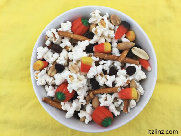 sweet salty fall trail mix